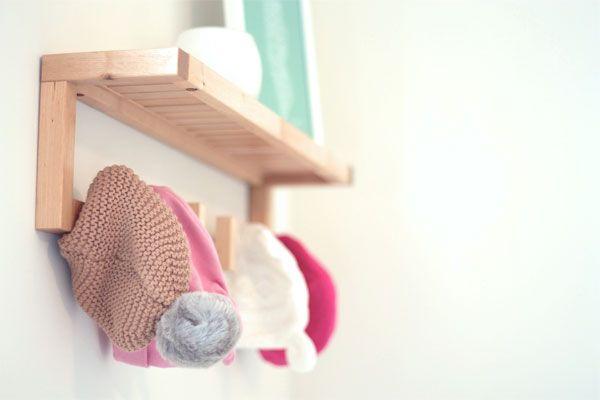 Little Baby Hat Rack