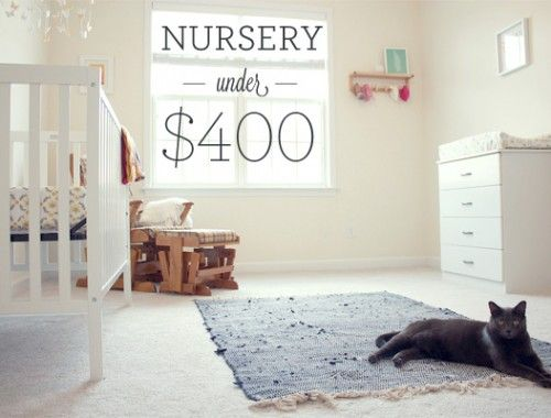 Baby nursery under $400