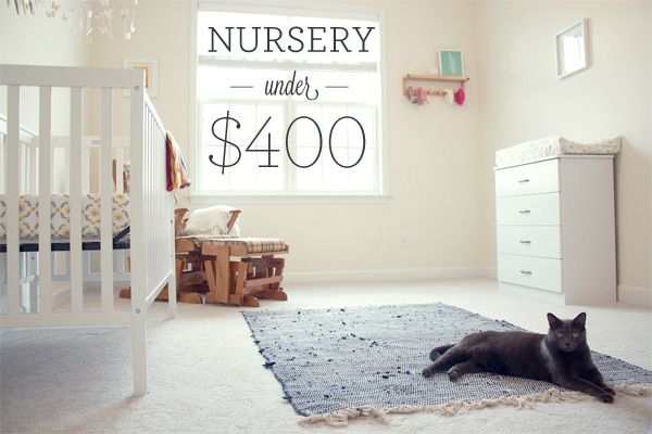 The Cost Of Our Baby Nursery Room Freaking Budget