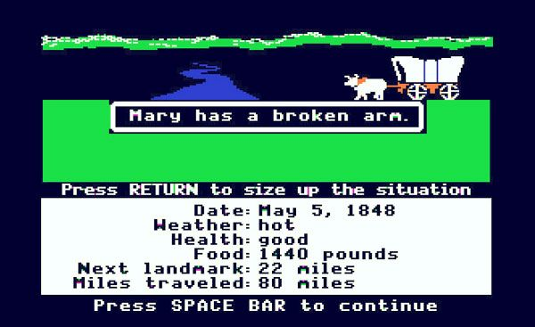 Remember the Oregon Trail Game?