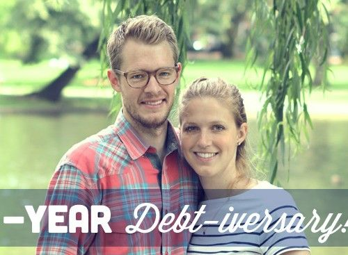 Debt free for one year
