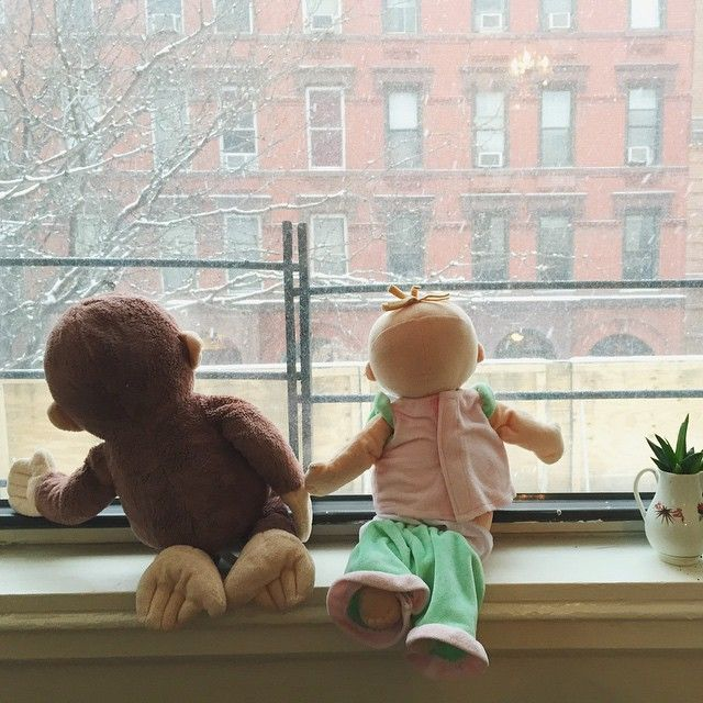 Sally's recruited her two best stuffed animals to keep an…