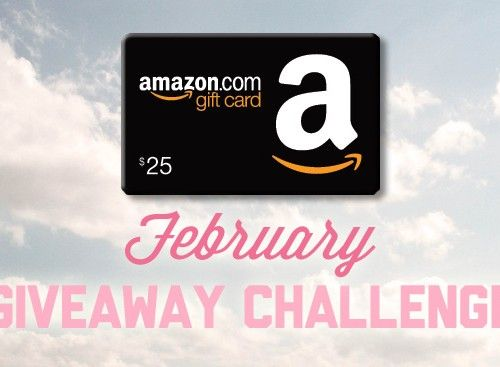 February Giveaway Challenge