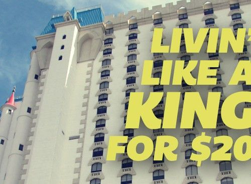 Livin' Like a King for $20