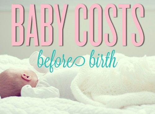 Baby Costs Before Birth