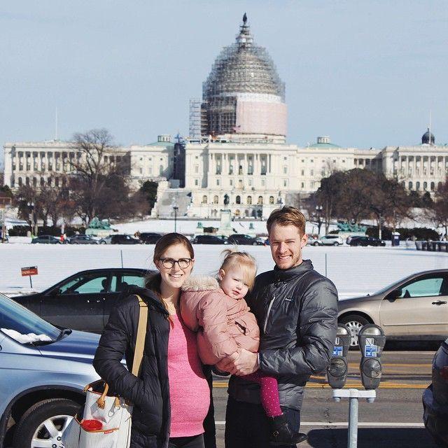 Final getaway as a family of three! weekendinDC 5weeksandcounting