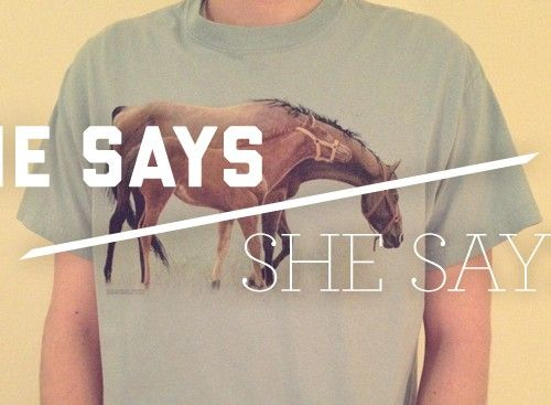 He Says/She Says: Thrift Stores