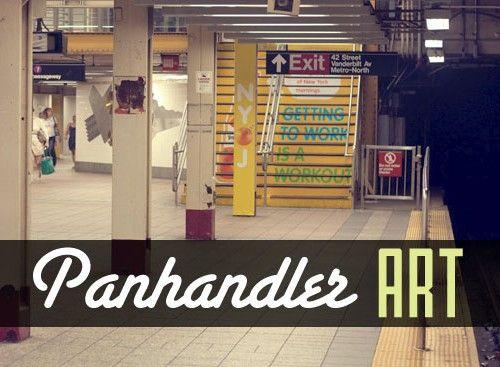 Panhandler Art