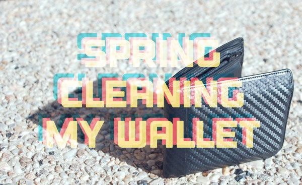 Spring Cleaning Wallet