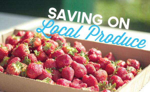 Saving on Local Produce