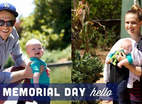 A Memorial Day Hello