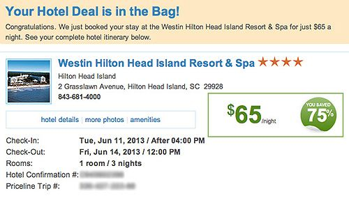 Priceline Success