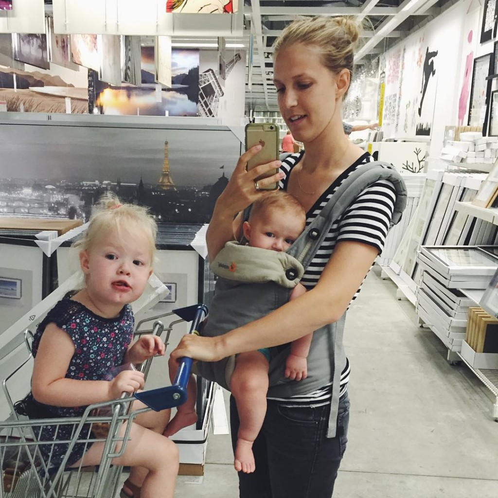Todays adventure in parenting IKEA with these crazies and Sallyshellip