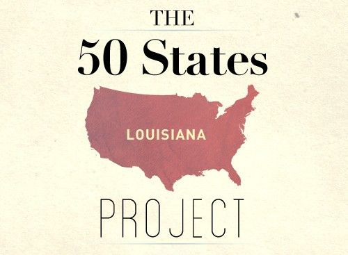 50 States Project: Louisiana