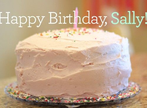 Happy Birthday, Sally!