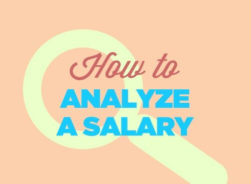 How to Analyze a Salary