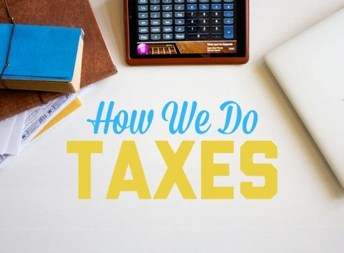 How We Do Taxes
