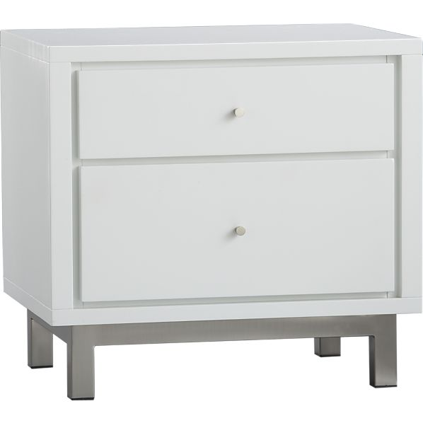 Crate and Barrel Nightstand