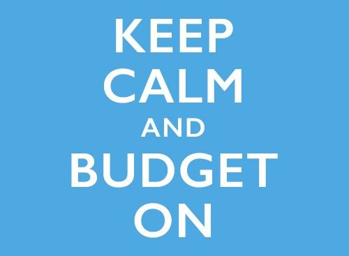 Keep Calm and Budget On