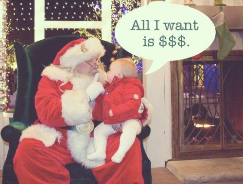 All I want for Christmas is $$$.