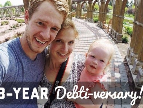 Three-Year Debti-versary!