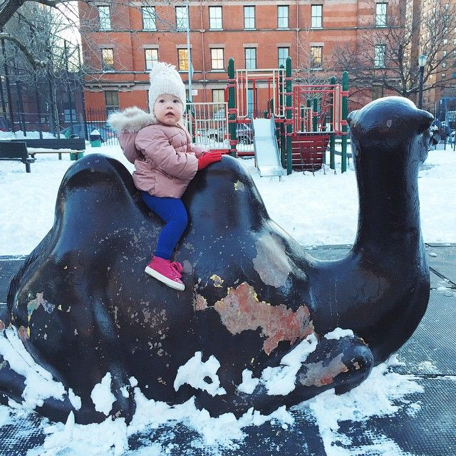 The never-ending state of NYC playgrounds❄️... March better be good…