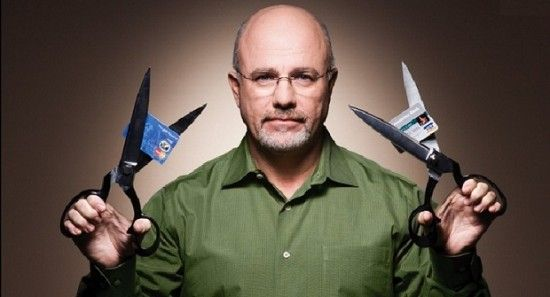 Dave Ramsey cutting cards