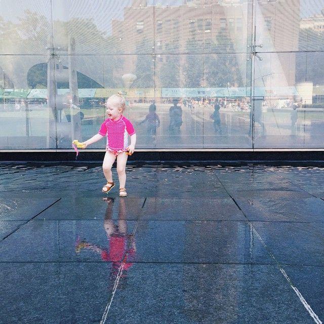 Go forth, little one. City splash pads await. spf50