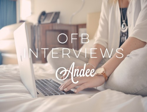 OFB Interviews Andee